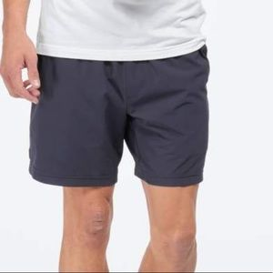 RHONE Navy Lined Shorts XXL